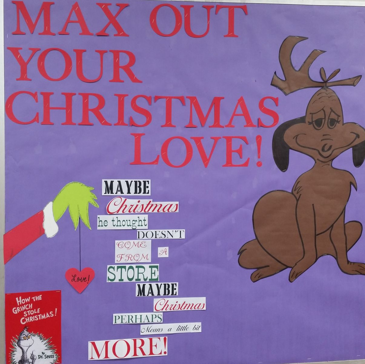 Max out your Christmas Love